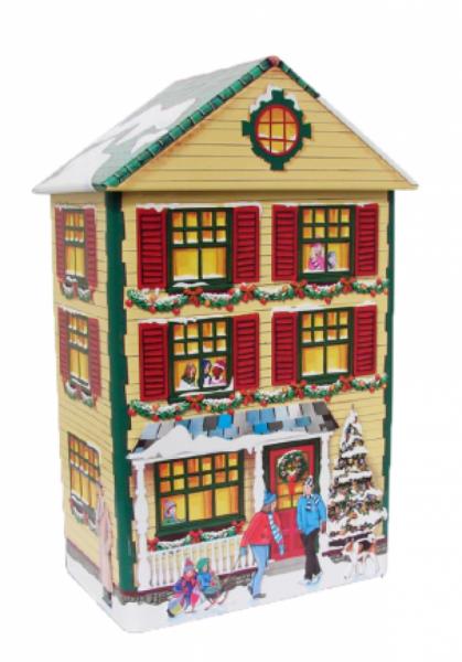 Winterliches Stadthaus