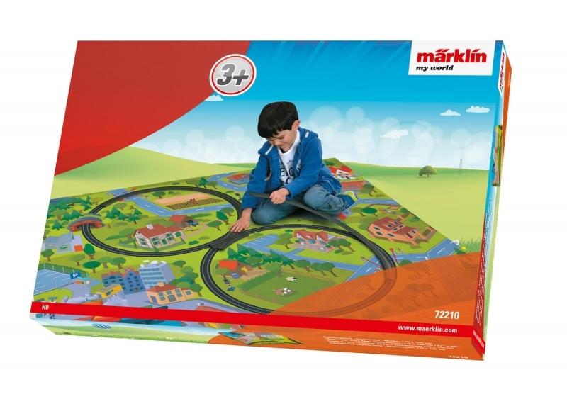 Märklin my World - Spielteppich Eisenbahn