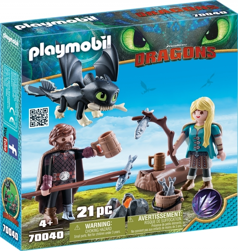 PLAYMOBIL® 70040 Hicks und Astrid mit Babydrachen