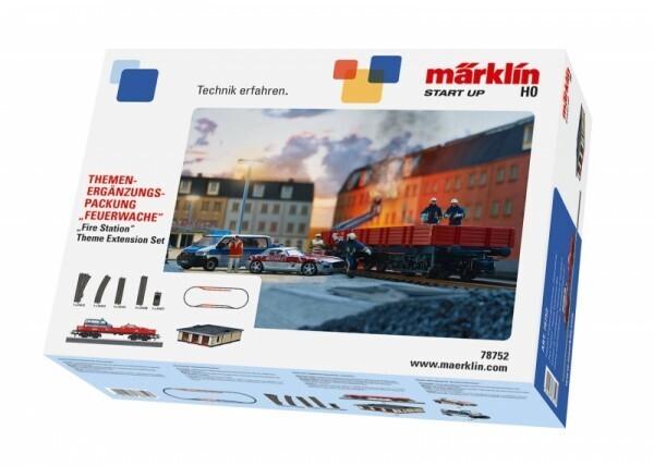 Märklin Start up 78752 - Themen-Ergänzungspackung Feuerwache