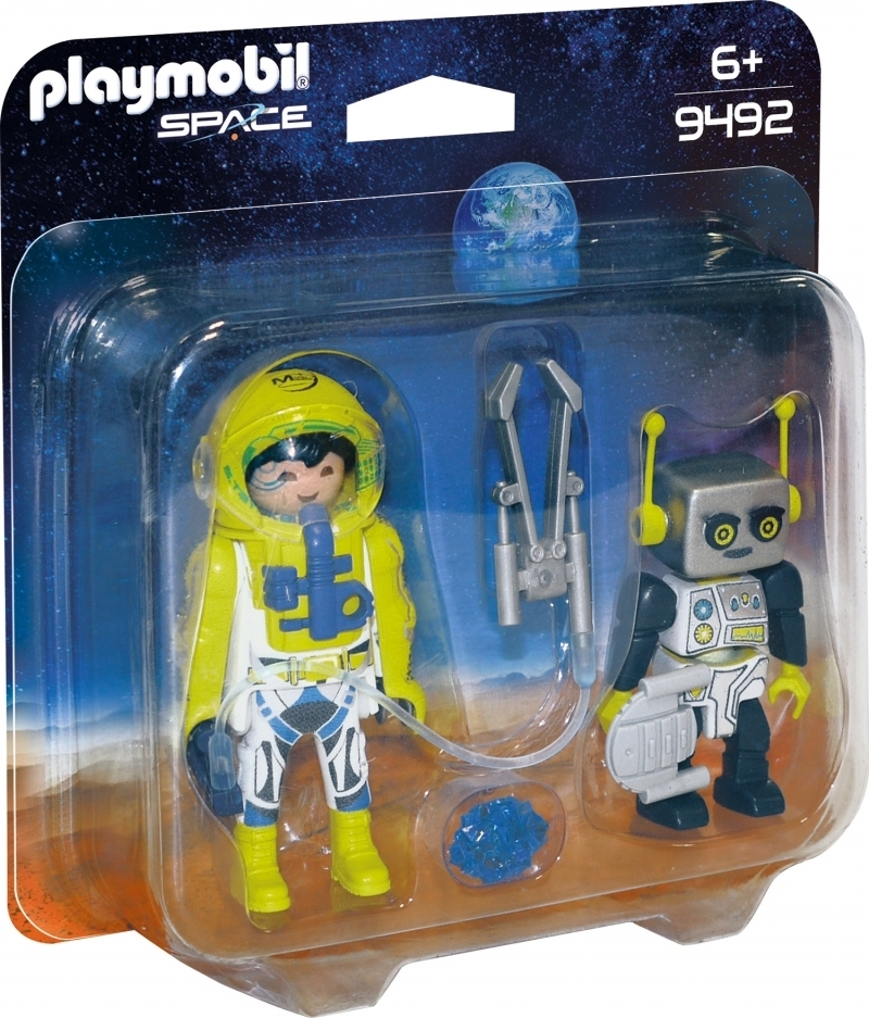 PLAYMOBIL® 9492 Duo Pack Astronaut und Roboter