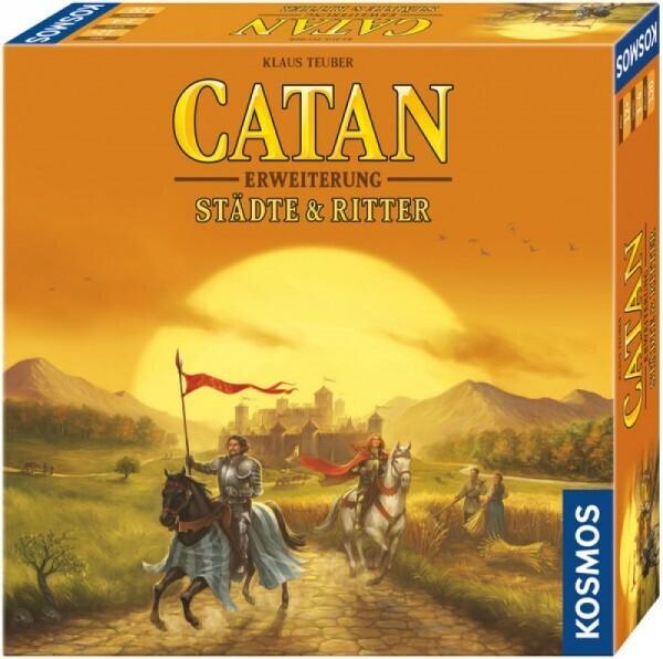 KOSMOS 695101 - Spiel CATAN - Erweiterung - Städte & Ritter