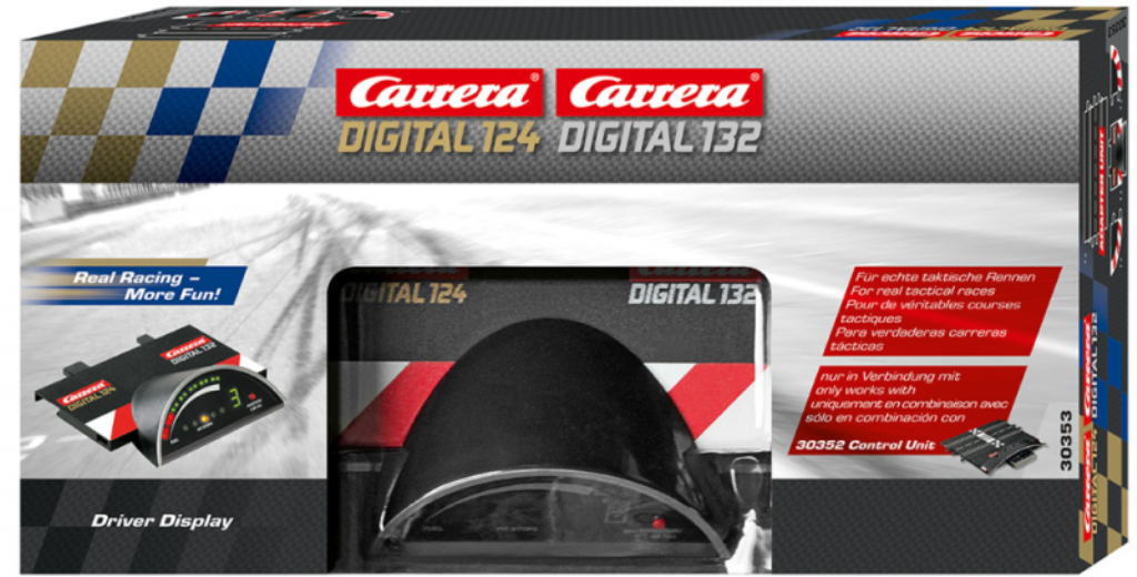 124/132 Digital Driver Display