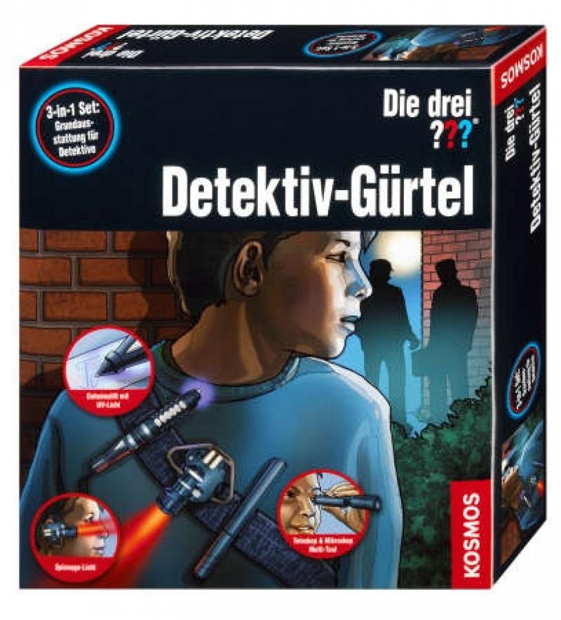 KOSMOS 630928 - Experimentierkasten Die drei ??? Detektiv-Gürtel