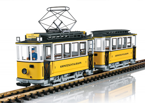LGB L23363 - Triebwagenzug Kirnitzschtalbahn