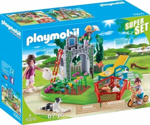 PLAYMOBIL® 70010 SuperSet Familiengarten
