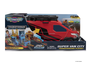 Jazwares - Micro Machines Super Van City