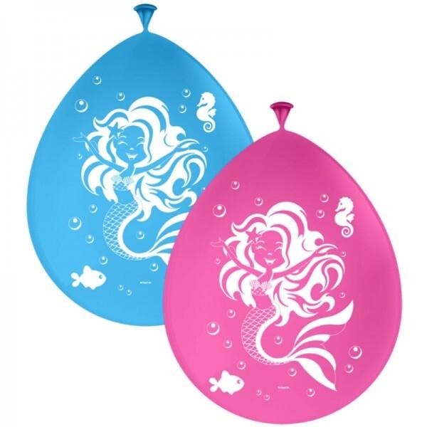 Meerjungfrau Ballons