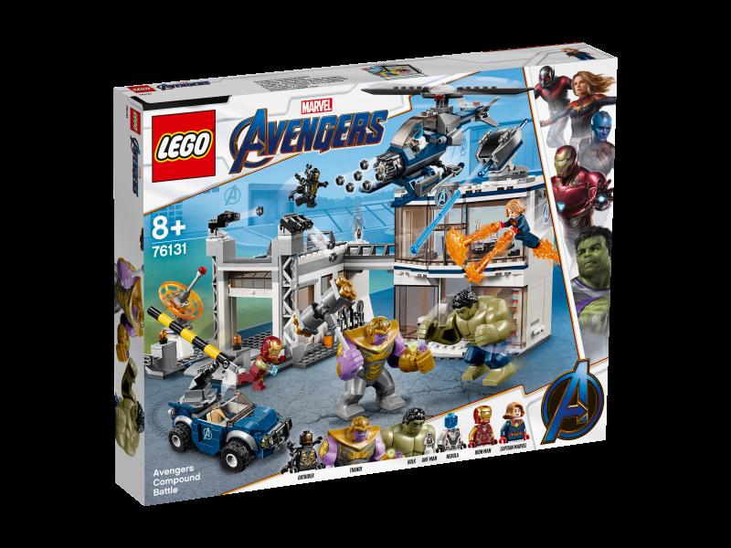 LEGO Marvel Super Heroes 76131 - Avengers-Hauptquartier