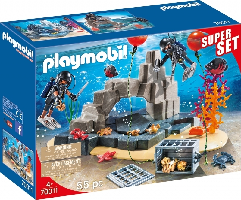 PLAYMOBIL® 70011 SuperSet SEK-Taucheinsatz