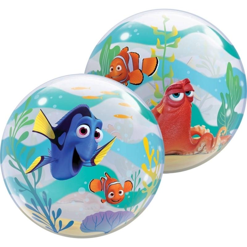 Findet Dorie Bubble Ballon gefüllt mit Helium
