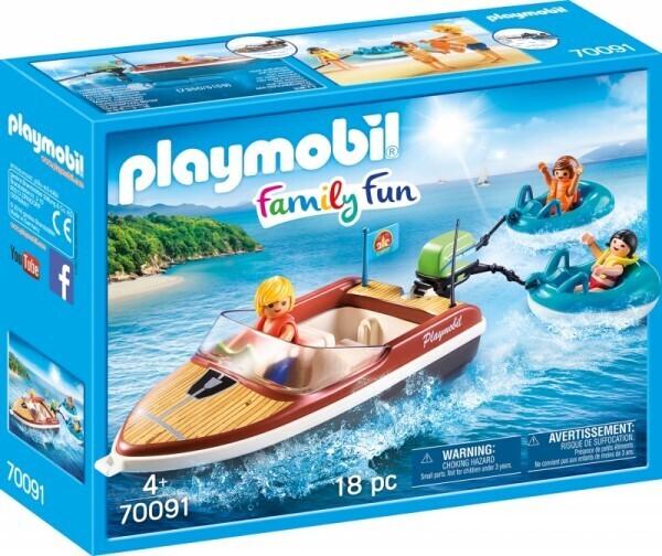 PLAYMOBIL® 70091 Sportboot mit Fun-Reifen