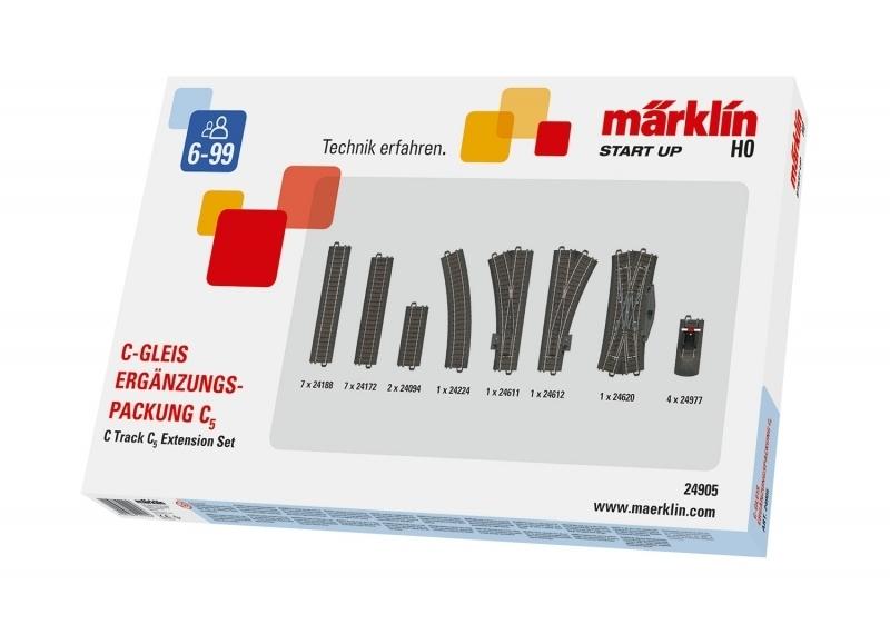 Märklin Start up 24905 - C-Gleis-Ergänzungspackung C5