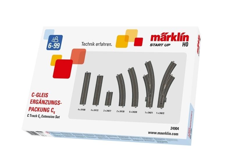 Märklin Start up 24904 - C-Gleis-Ergänzungspackung C4