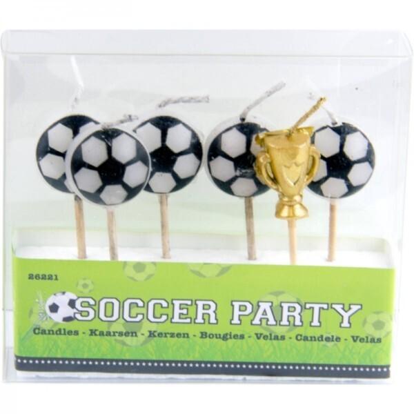 Fussball Kerzen-Set