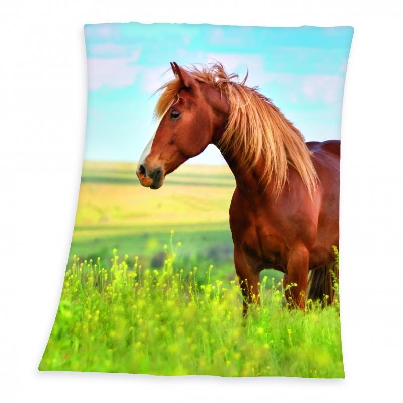 Pferd Fleece Decke