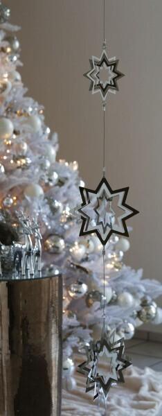 Weihnachts-Girlande Stars