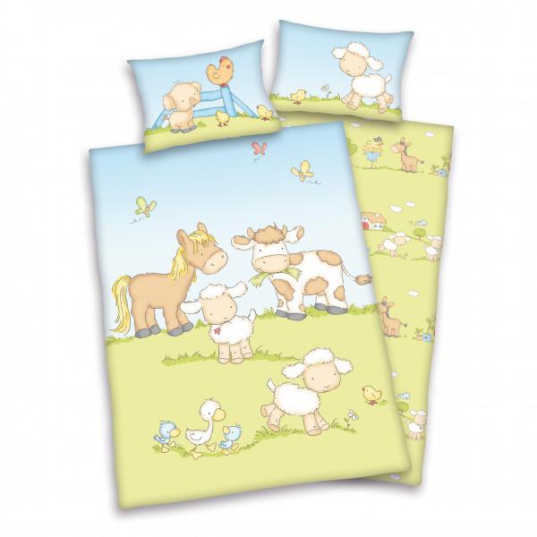 Babybettwäsche - Bauernhoftiere