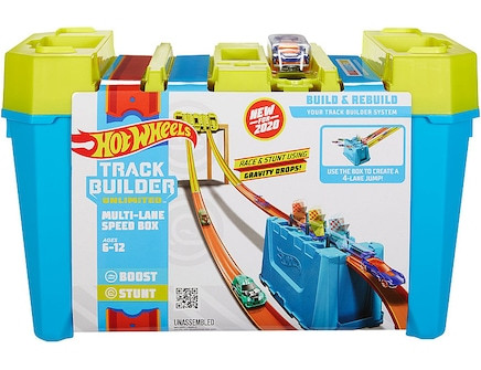 Hot Wheels -Track Builder Speed Box