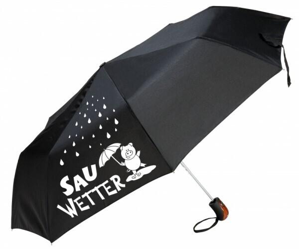 Regenschirm Sauwetter