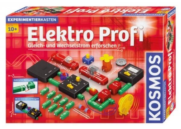 KOSMOS 620813 - Experimentierkasten Elektro Profi Wechselstrom leicht verständlich