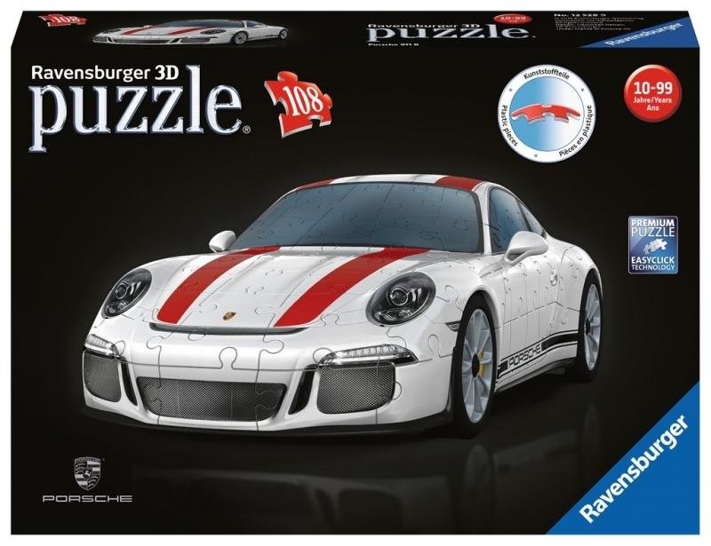Ravensburger 3D Puzzle-Sonderformen - Porsche 911 R