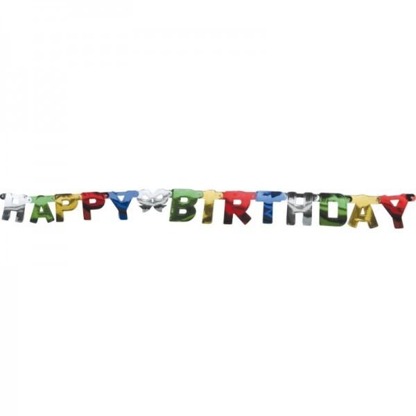 Happy Birthday Buchstabengirlande