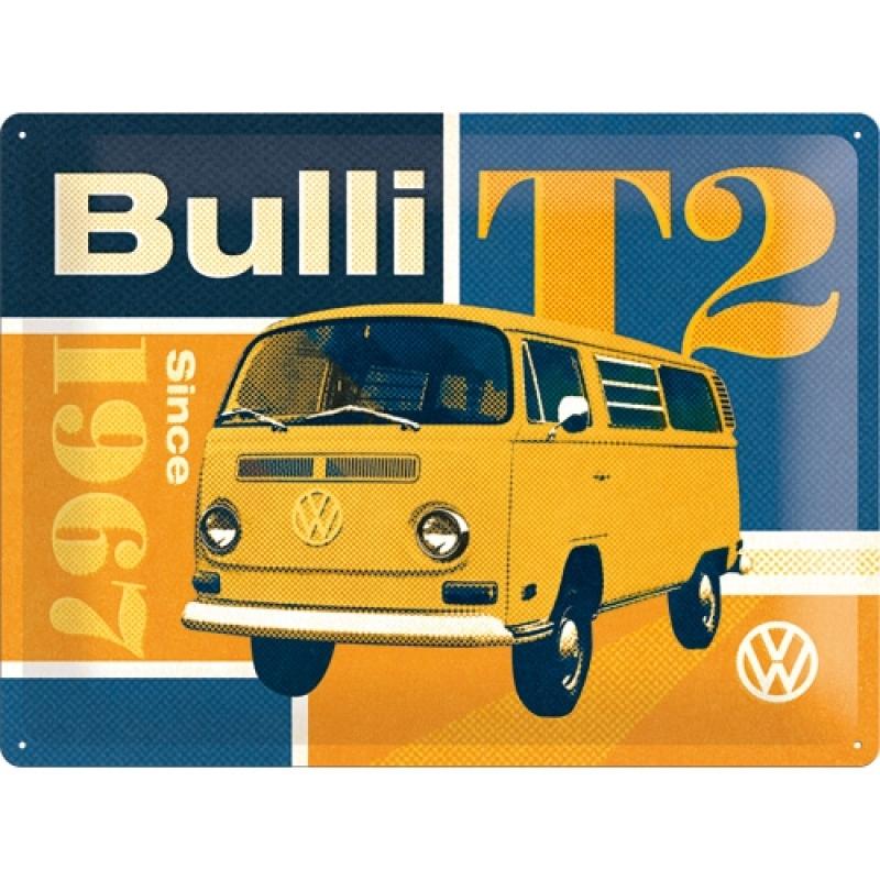 Blechschild VW T2 Bulli