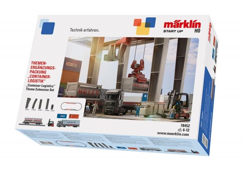 "Märklin Start up 78452 - Themen-Ergänzungspackung ""Containerlogistik"""