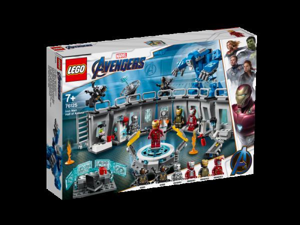 LEGO Marvel Super Heroes 76125 - Iron Mans Werkstatt