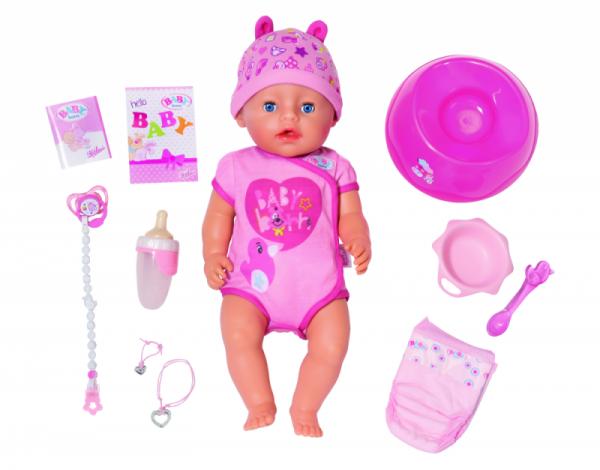 Zapf Creation Baby Born - Soft Touch Blue Eyes (43 cm )
