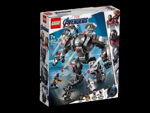 LEGO Marvel Super Heroes 76124 - War Machine Buster