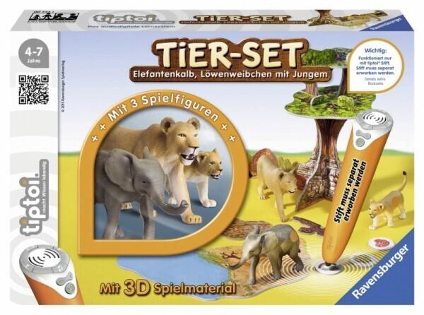 Ravensburger tiptoi® - Tier-Set Löwen