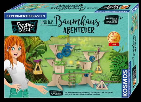 KOSMOS 626020 - Experimentierkasten Pepper Mint und das Baumhaus-Abenteuer
