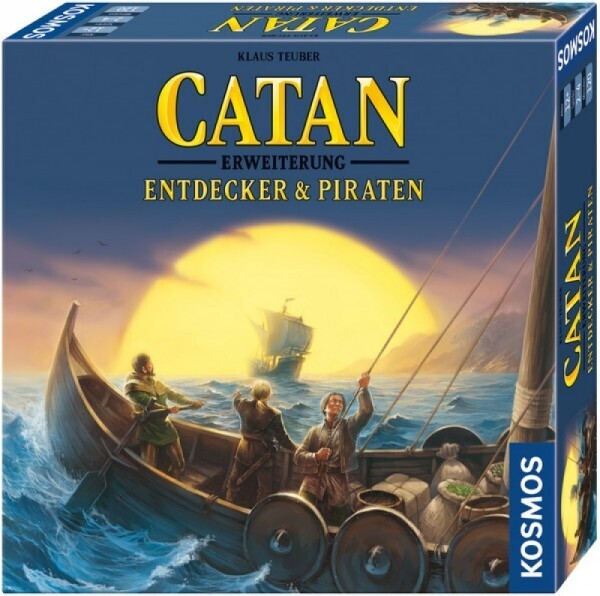 KOSMOS 693411 - Spiel CATAN - Erweiterung - Entdecker & Piraten