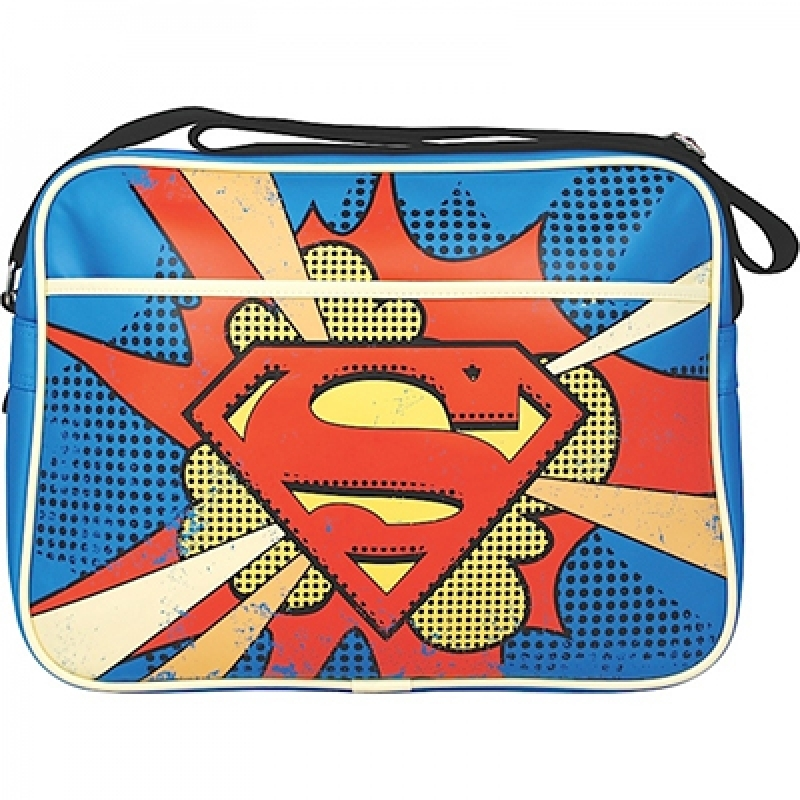 Schultertasche Superman Thakkk!