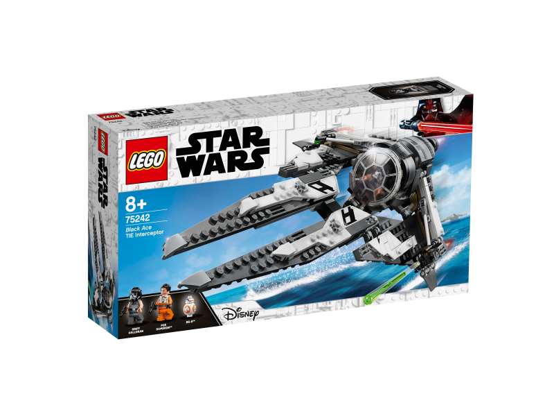 LEGO® Star Wars 75242 - TIE Interceptor™ – Allianz-Pilot