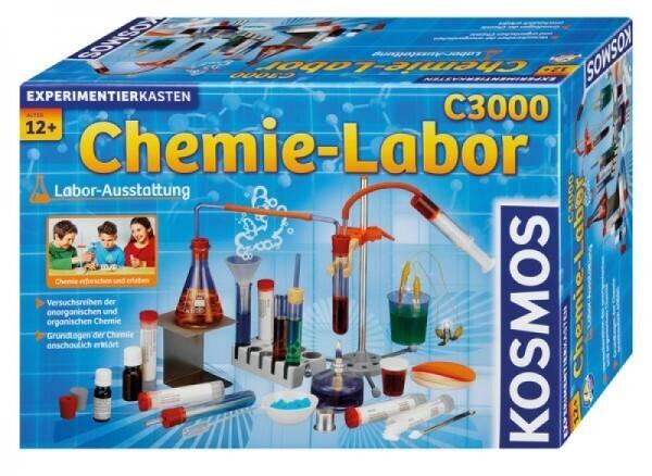 KOSMOS 640132 - Experimentierkasten Chemielabor C 3000