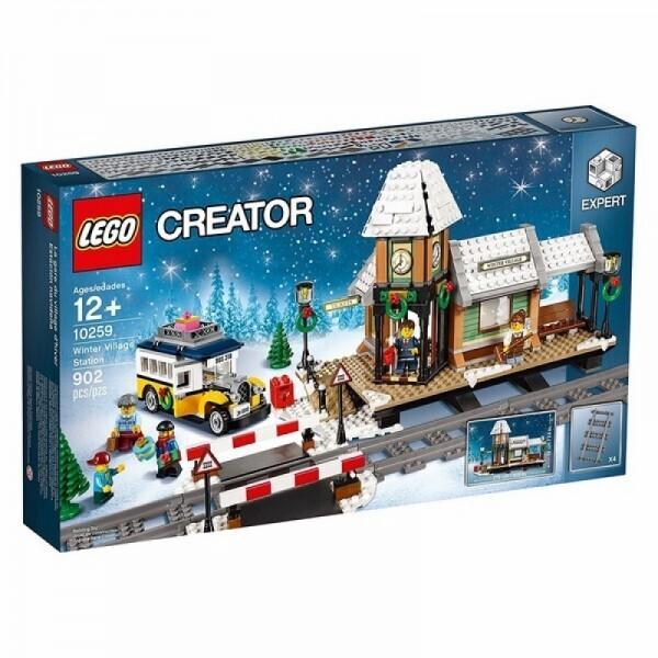 LEGO® CREATOR 10259 - Winterlicher Bahnhof