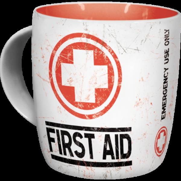 Tasse First Aid (Erste Hilfe)