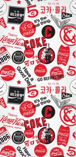 Coca-Cola Badetuch