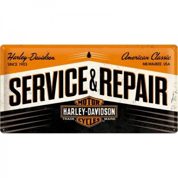 Blechschild Harley-Davidson Service & Repair