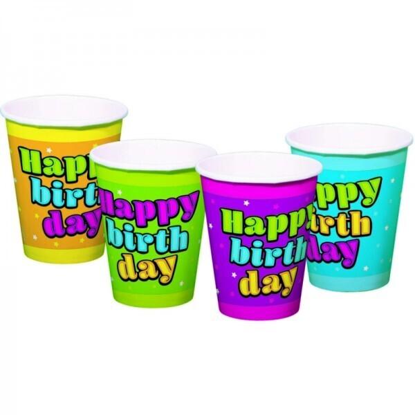 Happy Birthday Becher